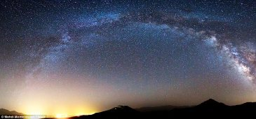 "Panoramic photo ""Isfahan Milky Way"" from Iran"