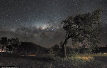 A starry night in Austrailia