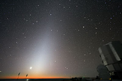 sky-watching.co.uk - # 100 - Zodiacal Light at Paranal
