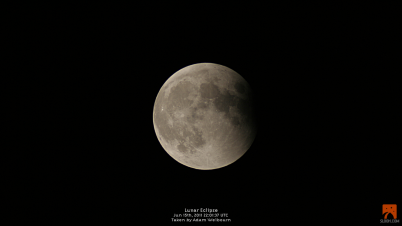 Total Lunar Eclipse 15th June 2011