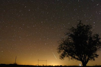 The Draconid meteor shower is an amazing cosmic phenomenon - Credit: meteorshowers.org