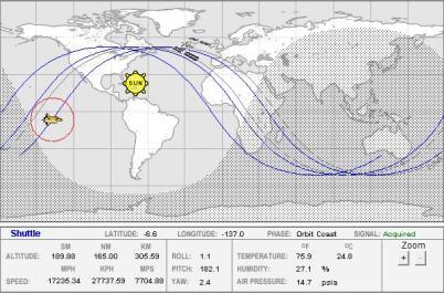 space shuttle orbital tracking - photo #11