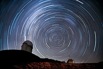 sky-watching Starry La Silla