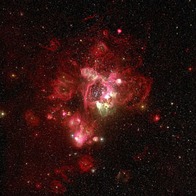 skywatching N44 in the Large Magellanic Cloud